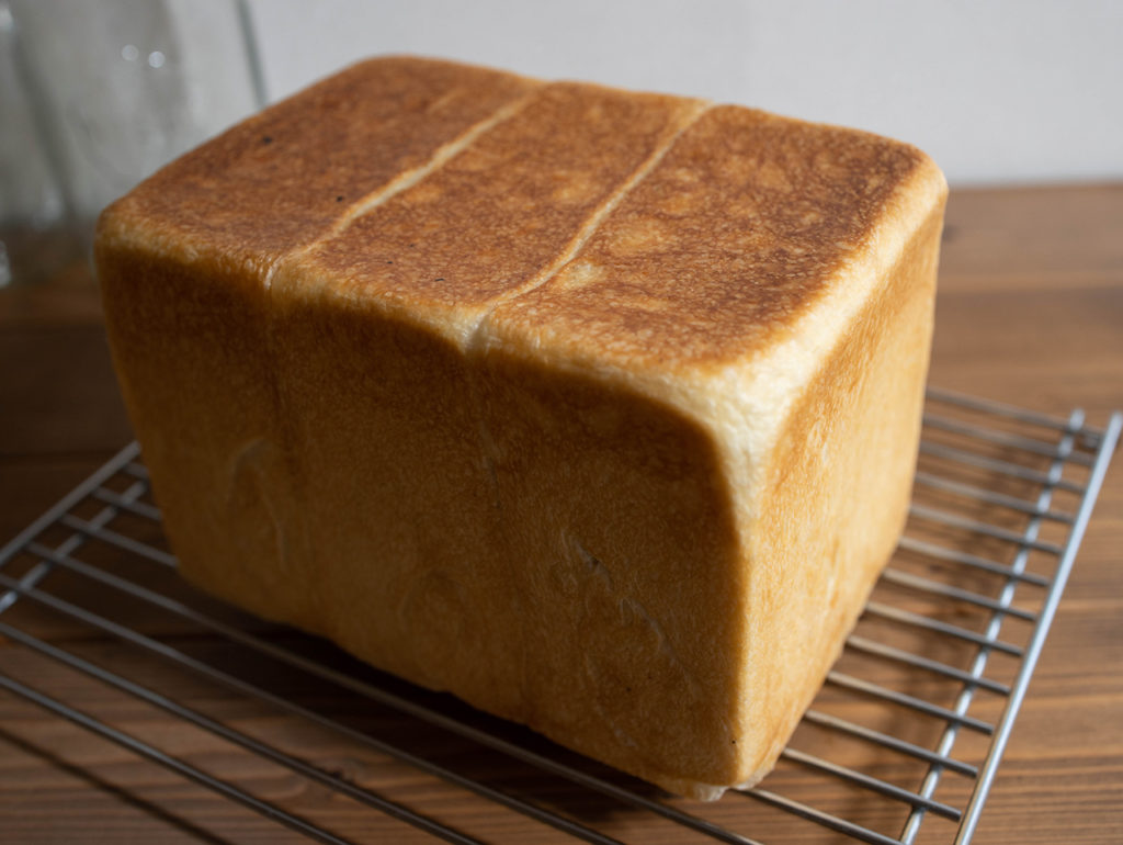 ルヴァン種で角食パン